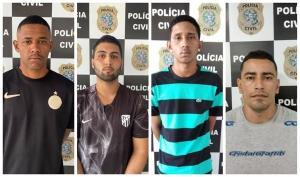 A organização criminosa atuava nos bairros André Carloni e Carapina Grande, além do município de Santa Maria de Jetibá, e é responsável por vários assassinatos