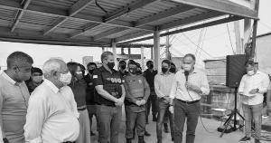 Além do reforço do policiamento na região de São Benedito, em Vitória, anunciado pelo governador, a presença do Estado por meio de serviços e equipamentos públicos também fortalece a rede de proteção social