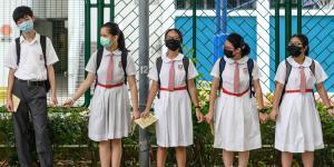 Schoolchildren Propel Hong Kong Protests