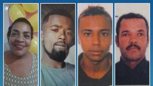 As investigações apontam que, dos quatro mortos, dois eram alvo, e a dona do bar acabou morrendo atingida por uma bala perdida