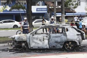 Ricardo Portugal, na época com 38 anos, dirigia o próprio veículo, um Jeep Compass pela Avenida Adalberto Simão Nader quando o SUV explodiu em movimento em 30 de outubro de 2020. Ele morreu no local