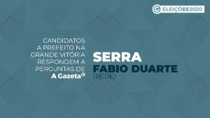 A Gazeta entrevistou o vereador e candidato para comandar a Serra pelos próximos quatro anos. Saiba as propostas dele para áreas de assistência social, segurança pública, trânsito, serviço público e infraestrutura. Veja o vídeo