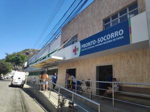 O caso aconteceu no bairro Jaburuna, em Vila Velha, por volta das 20h desta terça (5). A mulher, de 62 anos, foi levada para um hospital do município