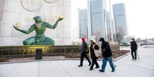 Detroit Approaches Its Coronavirus Peak
