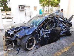 Delegacia de Delitos de Trânsito pediu a prisão temporária do motorista que dirigia o veículo envolvido em colisão que resultou na morte de dois jovens na Av. Dante Michelini, em outubro de 2019