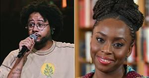 Músico e escritora usam sua arte (música e literatura) para fazer com que a população negra sinta que barreiras físicas, que visam impedir a sua presença, estão sendo derrubadas