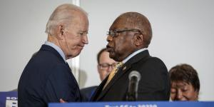 Rep. James Clyburn Endorses Joe Biden Ahead of South Carolina Primary