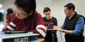 SAT Scores Fall as More Students Take the Test