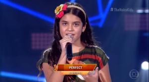 Cantora mirim de 11 anos virou as cadeiras dos jurados neste domingo (18) e está pronta para a próxima fase do programa: 'Estou muito feliz, vivendo um sonho. É um sonho!'