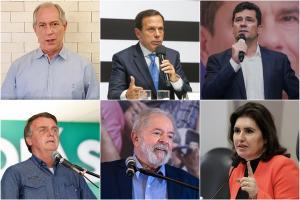 Bolsonaro, Huck, Moro, Doria, Luiza Trajano, Mandetta, Casagrande e outros. A lista é grande, mas nem todos vão se viabilizar e ainda tem o fator Lula. Confira