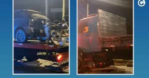 A fiscalização foi feita na BR 101, no Km 415, próximo ao trevo de acesso ao município de Cachoeiro. No total, foram lavrados 50 autos de infração