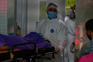 O grupo de pacientes chega nesta quinta-feira (21) ao Estado. Eles devem ser transferidos para o Hospital Dr. Jayme Santos Neves, na Serra