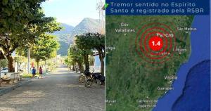 Pancas tem despertado interesse de pesquisadores; especialista da Ufes analisou tremores que atingiram a região e destacou que no município existe uma particularidade geológica importante ligada a Colatina