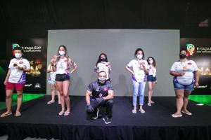 Anna Rodrigues e Gabriela Rangel garantiram o lugar no pódio para a comunidade, que conseguiu a mesma colocação no masculino