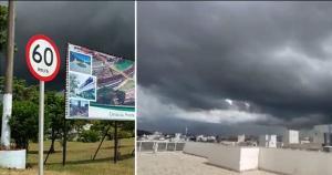 Apesar do momento de calor neste verão, as nuvens acinzentadas indicam que o capixaba pode se preparar para um fim de semana com poucas chances de praia. Há previsão de instabilidade e chuva em todo o Espírito Santo