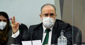 O procurador-geral da República foi questionado especificamente sobre os casos do deputado federal Daniel Silveira (PSL-RJ) e do presidente nacional do PTB, Roberto Jefferson