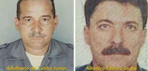 O homem e a mulher foram localizados após uma abordagem da polícia mineira na última quarta-feira. Em 2005, dois policiais militares foram assassinados durante uma emboscada na cidade de São Mateus