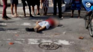 Homicídio aconteceu nesta quarta-feira (4), em um dos principais bairros comerciais da cidade; nenhum suspeito foi detido até o momento