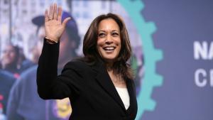 A ex-senadora californiana tornou-se imediatamente cotada para concorrer à Casa Branca em 2024, já que Biden anunciou que deve ser um presidente de 'transição' para o futuro do partido
