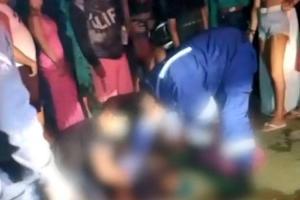 Crime aconteceu pouco depois da meia-noite, na orla da Praia Central de Marataízes. Jovem de 18 anos era o alvo dos disparos. Criança de dez anos também acabou sendo atingida e morreu