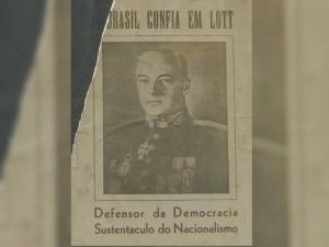 Gozando de prestígio e com imagem de legalista entre setores do centro e das esquerdas, Lott, que passara à reserva como marechal em 1959, foi escolhido para disputar a presidência em 1960 pelo PSD