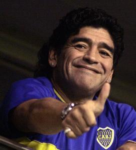 A nota, no valor de US$ 12,27, apresentaria o rosto de Maradona de um lado e a foto de um de seus gols mais famosos do outro, disse a autora do projeto, a senadora Norma Durango