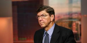 Harvard Professor Clayton M. Christensen Turned His Life Into a Case Study