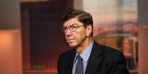 Harvard Professor Clayton M. Christensen Turned His Life Into a Case Study