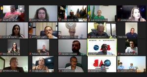 Evento virtual realizado nesta segunda-feira (19) reuniu prefeitos, promotores de Justiça e membros da OAB-ES. Integração de 27 comarcas no Estado está suspensa pelo CNJ, mas há expectativa de julgamento para o próximo mês