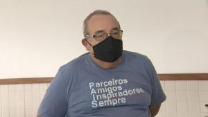 João Paulo Sampaio dos Reis, 47 anos, morreu neste sábado (1) em uma tirolesa no Morro do Moreno, em Vila Velha. Em entrevista, o pai do engenheiro afirmou que o filho 'foi vítima de um erro grosseiro'