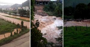 O volume de chuva nas últimas 24 horas foi menor, segundo o Boletim da Defesa Civil Estadual; cidades tentam se recuperar dos estragos registrados desde a última sexta-feira (30)