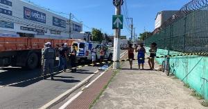 Cleber Daniel, de 35 anos, bateu a cabeça; o acidente aconteceu no início da tarde desta sexta-feira (5) no bairro Jardim Limoeiro. Não há informações se ele foi fechado por algum carro, ou se caiu sozinho.