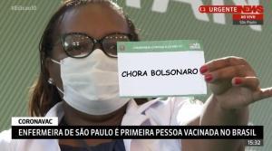Reações divertidas à liberação da vacina contra o coronavírus e início da imunização no Brasil, neste domingo (17), explodiram na internet e no Twitter só se fazia produzir memes sobre o assunto