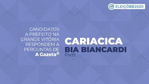 A Gazeta entrevistou a candidata para comandar Cariacica pelos próximos quatro anos. Saiba o que ela propõe para economia local, saúde, infraestrutura, educação e segurança pública. Veja o vídeo
