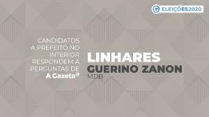 A Gazeta entrevistou o prefeito e candidato a comandar Linhares por mais quatro anos. Saiba o que ele propõe para as áreas de saúde, saneamento, turismo, transporte e economia. Veja o vídeo