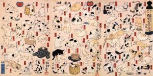 Felinos e suas cenas típicas sempre fizeram sucesso na história do mundo e foram protagonistas de muitas obras de arte