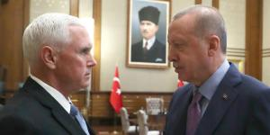 Pence Leads U.S. Efforts to Halt Turkey Offensive in Syria