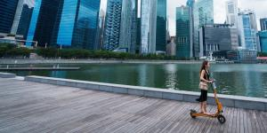 Singapore Hits the Brakes On Electric Scooters, But That Doesn't Stop Renegade Riders