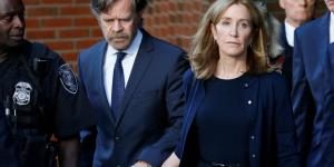 Felicity Huffman Faces Sentencing in College-Admissions Cheating Scheme