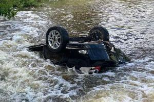 O carro voltava para o ES, quando caiu em um rio na BR 418, em Minas. Os quatro ocupantes, da mesma família de Conceição da Barra, foram encontrados mortos. Ela também enviou um áudio