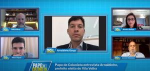 Prefeito eleito de Vila Velha revelou que já teve uma primeira conversa com o futuro prefeito de Vitória. Eles avaliam medidas a serem tomadas em conjunto para desafogar acessos entre as duas cidades