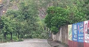 O dia foi de muita chuva em algumas cidades do Sul do Espírito Santo; ainda permanece o alerta meteorológico para 17 municípios capixabas