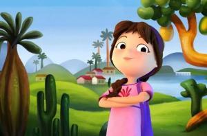 Canção feita para o filme ressalta a brasilidade presente no longa, especialmente nas suas cores, paisagens e personagens da cultura brasileira, como a Cuca e o Saci