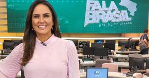 A jornalista estava na casa desde 2005, quando começou como repórter, e atualmente apresentava o matutino 'Fala Brasil'