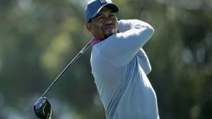 Considerado por muitos o maior golfista de todos os tempos, Tiger Woods era o único dentro do veículo