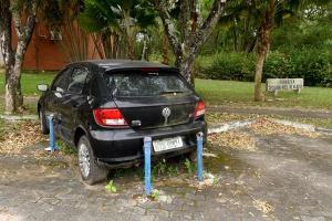 Carro faz parte de um conjunto de veículos que fazem parte do patrimônio da antiga Fundação Ceciliano Abel de Almeida (FCAA) - que era ligada à Ufes -, e cujo processo de extinção tramita na Justiça estadual