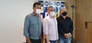 Em convenção nesta sexta-feira (11), partido confirmou o vereador para prefeitura e indicou Sérgio Colodetti, presidente da Associação Comercial de Itacibá, como vice