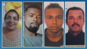 O filho, que mora em Vitória, não conseguiu chegar a tempo de ver a mãe com vida; outras três pessoas foram assassinadas