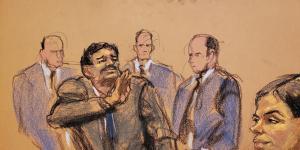 Joaquín 'El Chapo' Guzmán Sentenced to Life in U.S. Prison