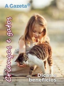 Veja como pode ser benéfica a relação de gatos com crianças